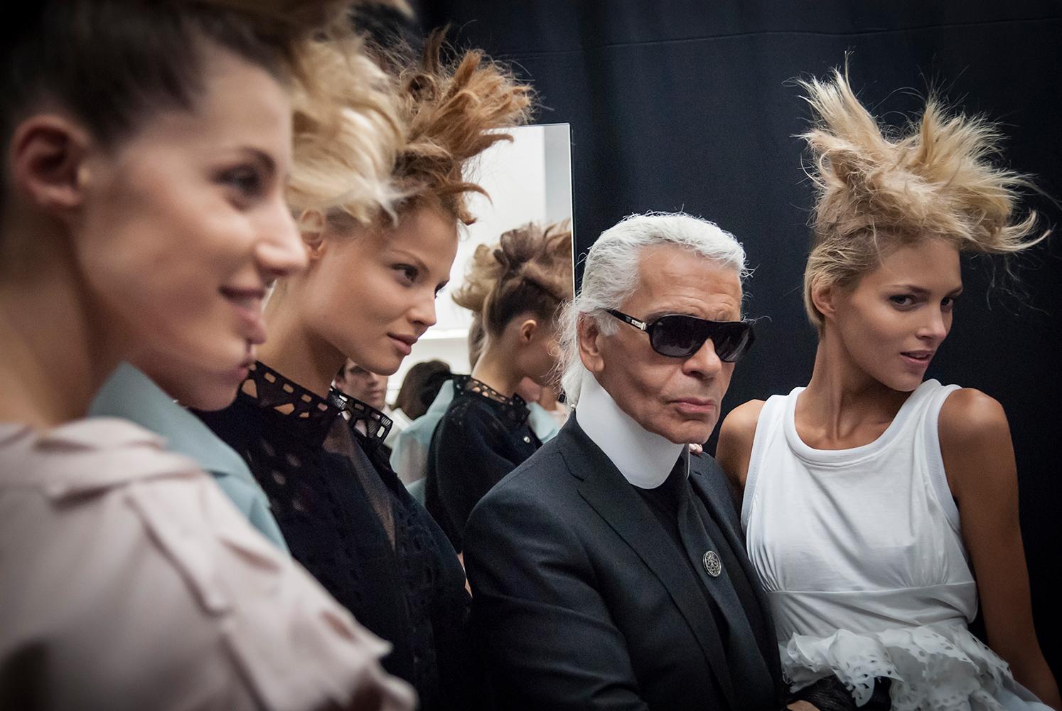Karl Lagerfeld by Marco Coppola